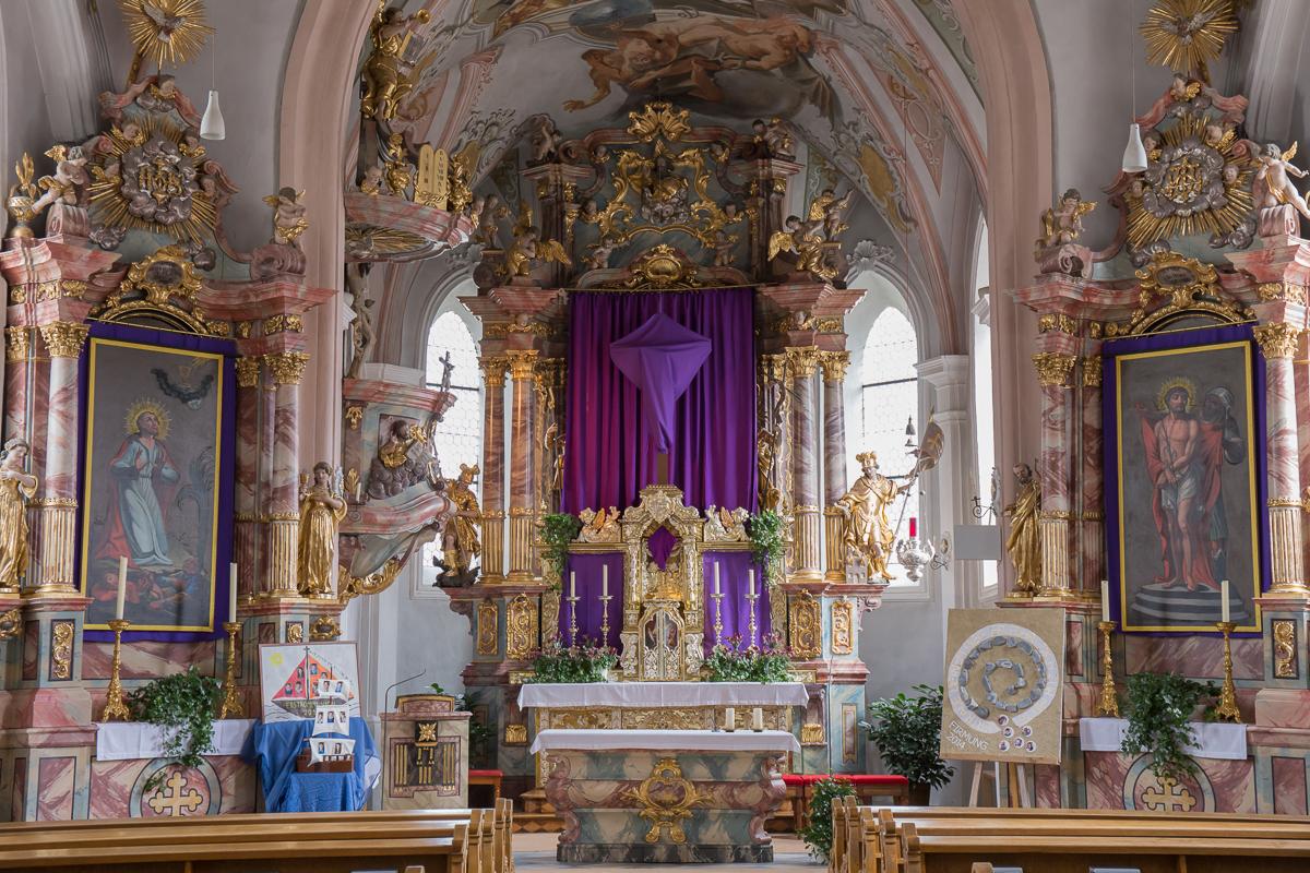 Kirche in Serfaus