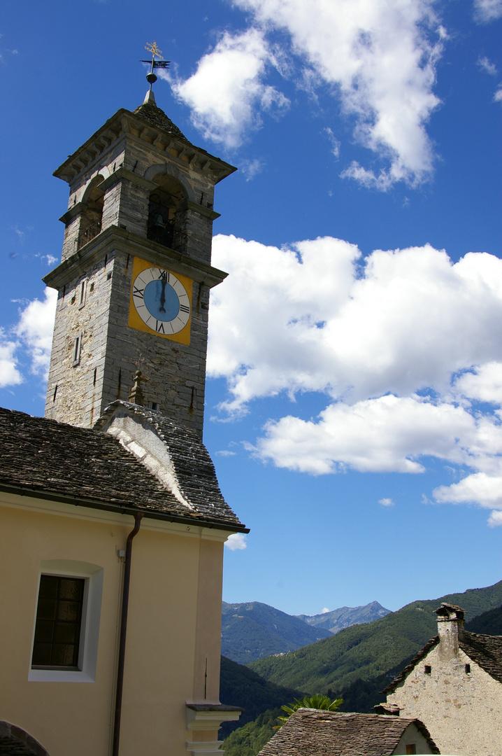 Kirche in Verdasio