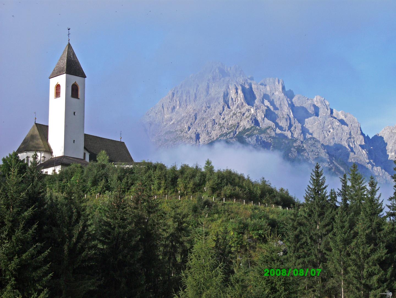 Kirche in Vierschach/Südtirol