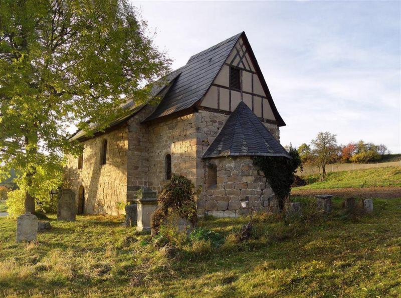 Kirche in Weitersdorf, nördl. von Rudolstadt
