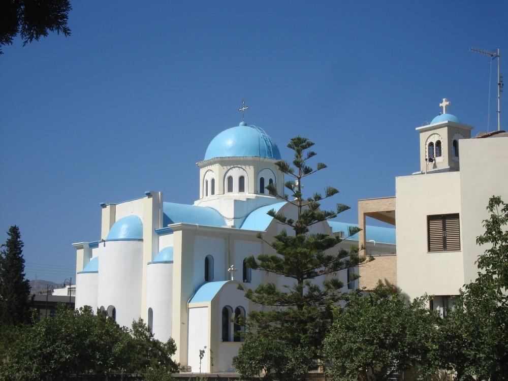 Kirche in Zipari auf Kos