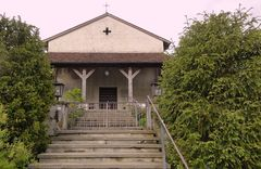 Kirche Kleinhöchstetten, frontal