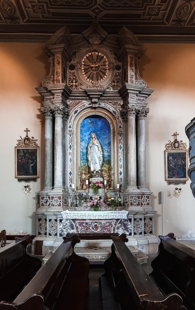 Kirche  , Kroatien  , Labin