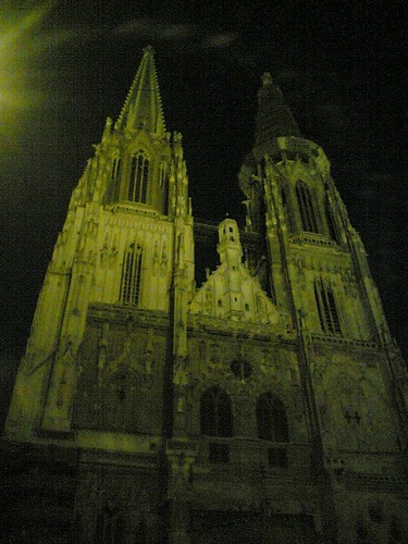 Kirche oder Dom in Regensburg