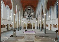 Kirche ohne Bänke