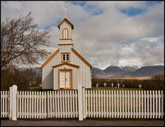 Kirche Reynistadur