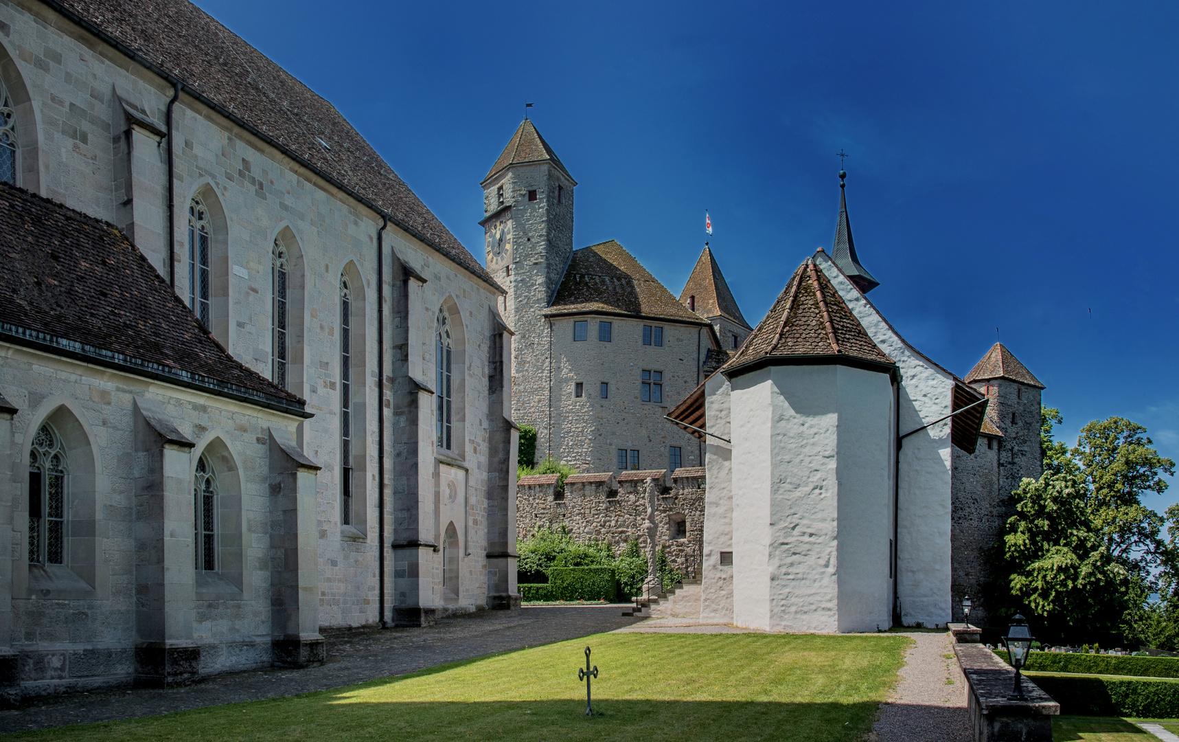 Kirche St. Johann Schloss Liebfrauen Kappele in Rapperswil