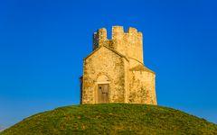 Kirche Sveti Nikola, Nin, Dalmatien, Kroatien