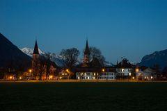 Kirche und Schloss Interlaken