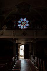 Kirche von Afers /Eores...