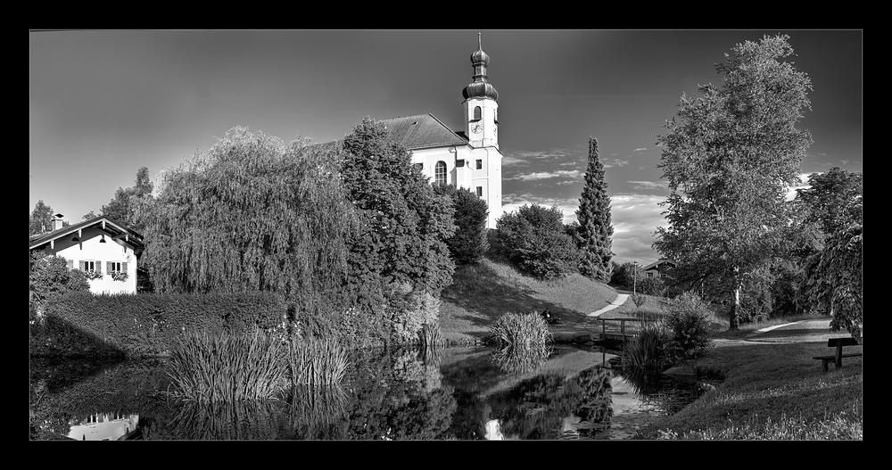Kirche von Breitbrunn am Chiemsee (Breit)