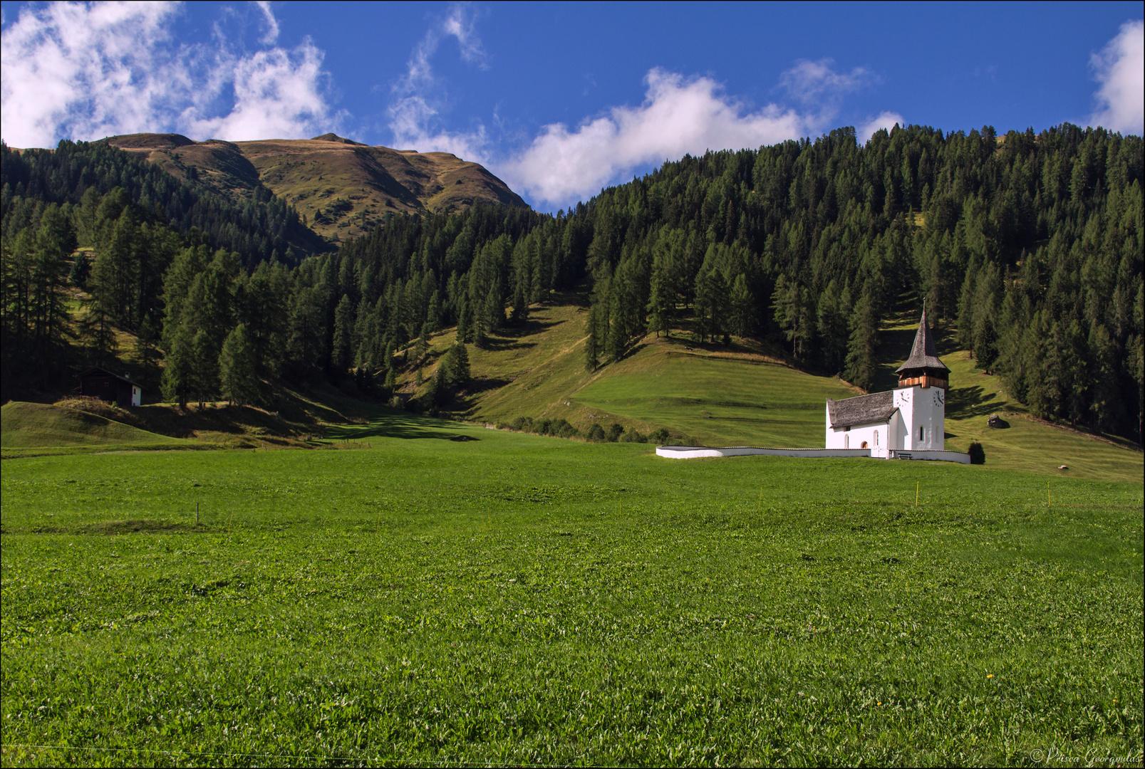 Kirche von Davos-Frauenkirch