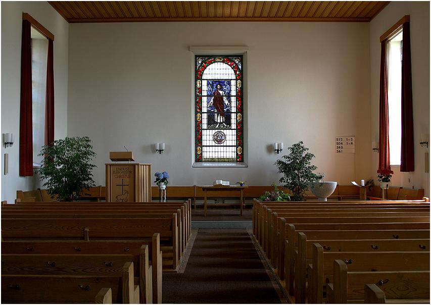 Kirche von Heimenschwand/Berner Oberland