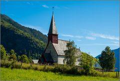 Kirche von Luster, Lustrafjord, Sognefjord