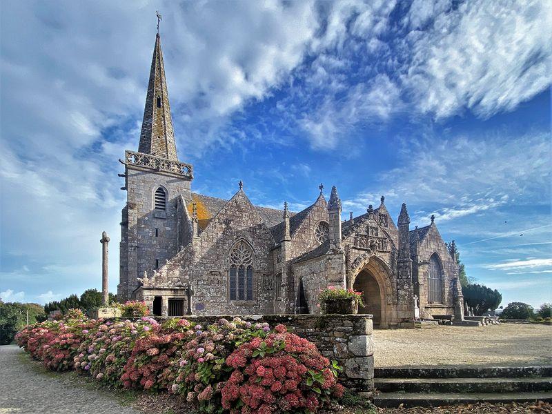 Kirche von Runan, Bretagne