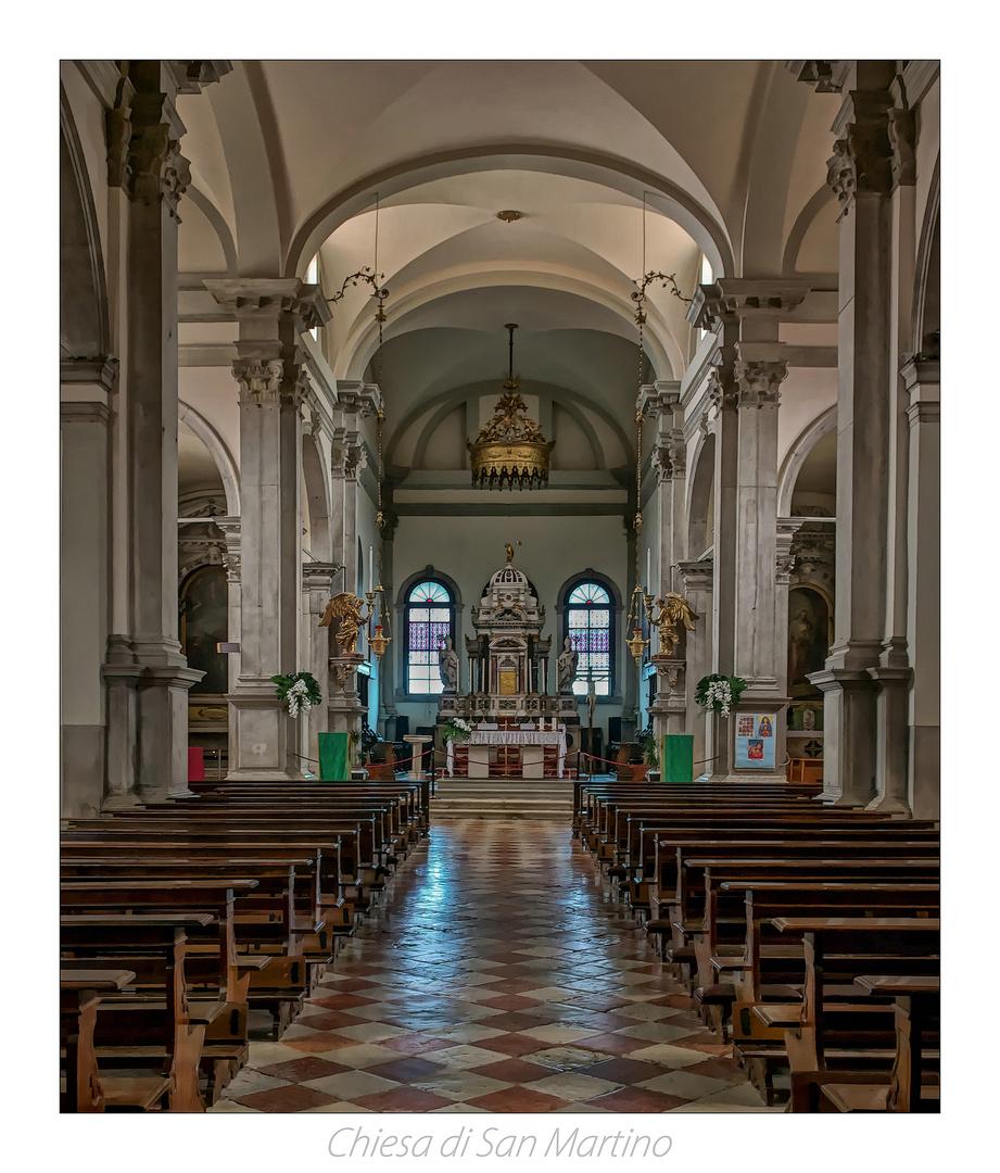 *** Kirche von San Martino (Burano) ***