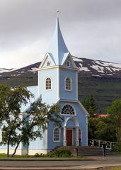Kirche von Seyðisfjörður