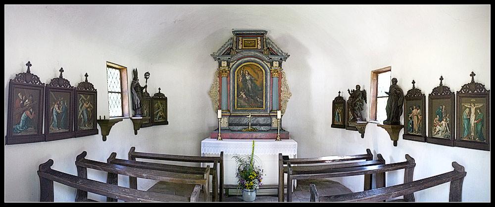 Kirche vor 150 Jahren