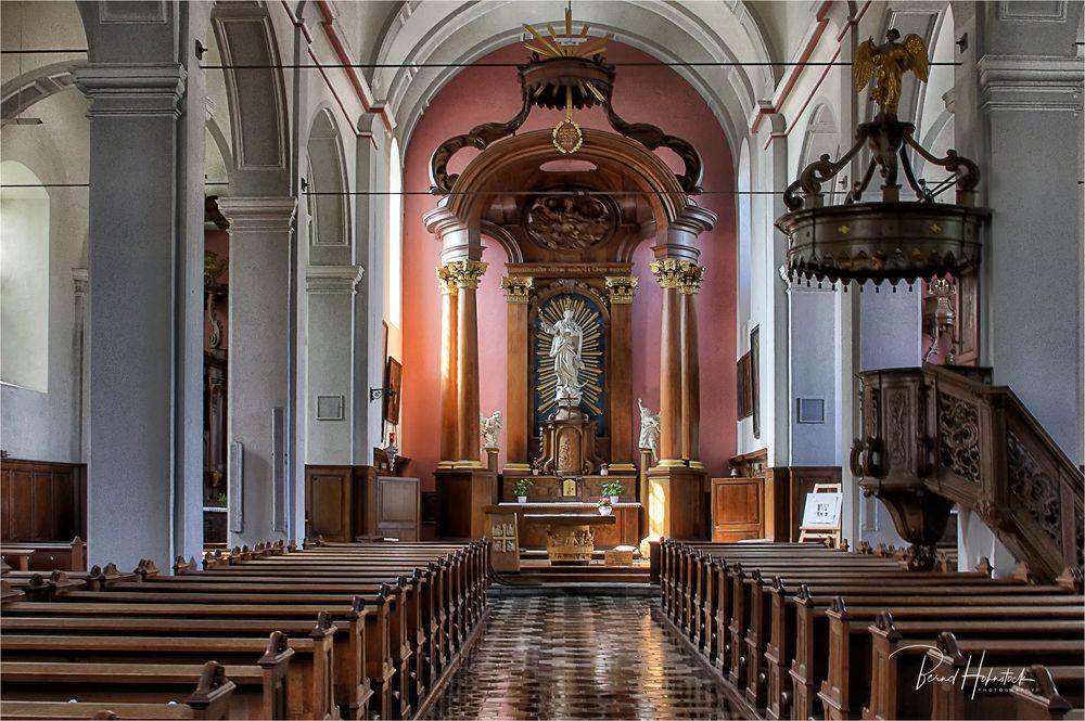 Kirche zur Unbefleckten Empfängnis in Eupen ...
