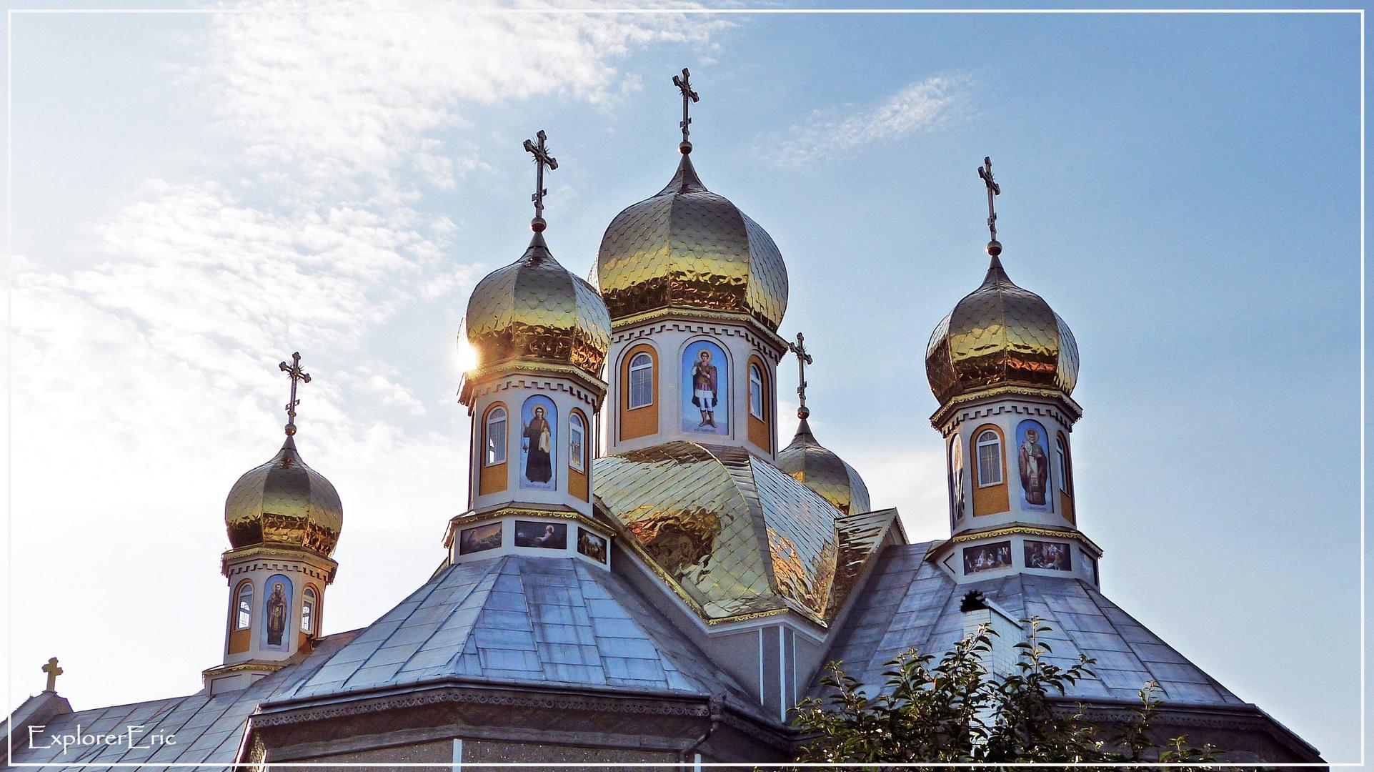 Kirchenarchitektur in Transkarpatien..................