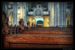 Kirchenbänke ... St. Cornelius Dülken