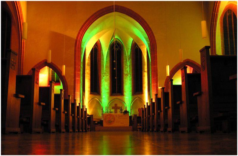 Kirchenbeleuchtung