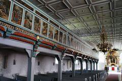 Kirchenempore und Altar St. Jürgen in Heide