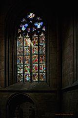 Kirchenfenster im Dom Halberstadt