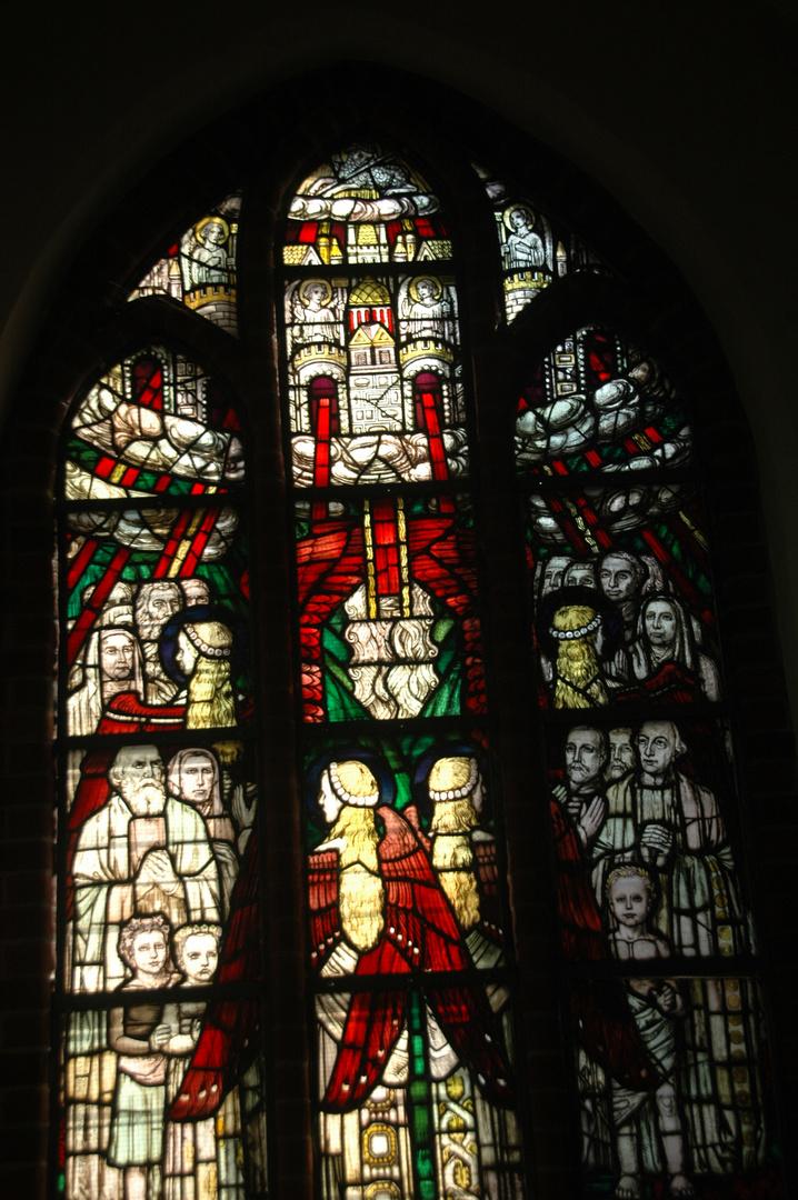 Kirchenfenster in der Johanniskirche in Lüneburg