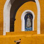 Kirchenfenster in Izamal