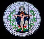 Kirchenfenster in Köln-Vogelsang
