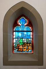 Kirchenfenster in St. Remigius, Bergheim (2)