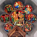 Kirchenfenster in St. Ursula, Köln