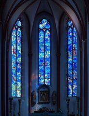 Kirchenfenster von ST. Stephan in Mainz (Marc Chagall)