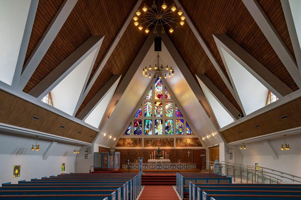 Kircheninneres in Hammerfest
