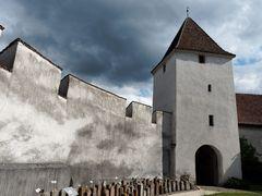 Kirchenmauer Arbogastkirche