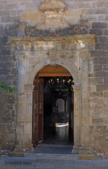Kirchenportal Agios Nikolaos (Lefkada)
