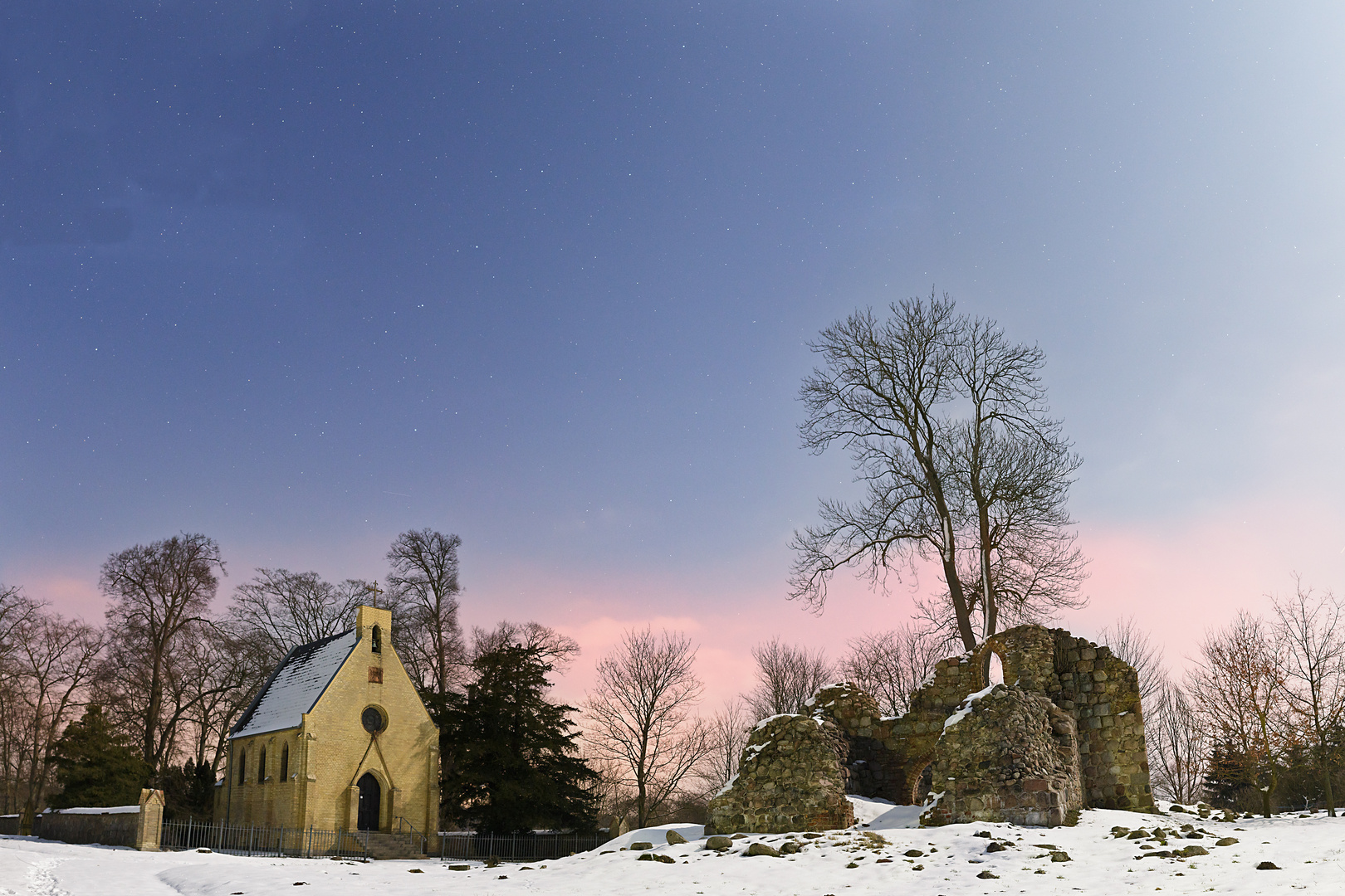 Kirchenruine bei Steinfurth