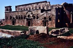 Kirchenruine in Qualb Loze, Syrien.  .120_3736