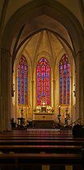 Kirchenschiff der Servatiikirche Münster