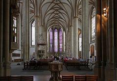 Kirchenschiff der Stadt und Marktkirche St. Lamberti