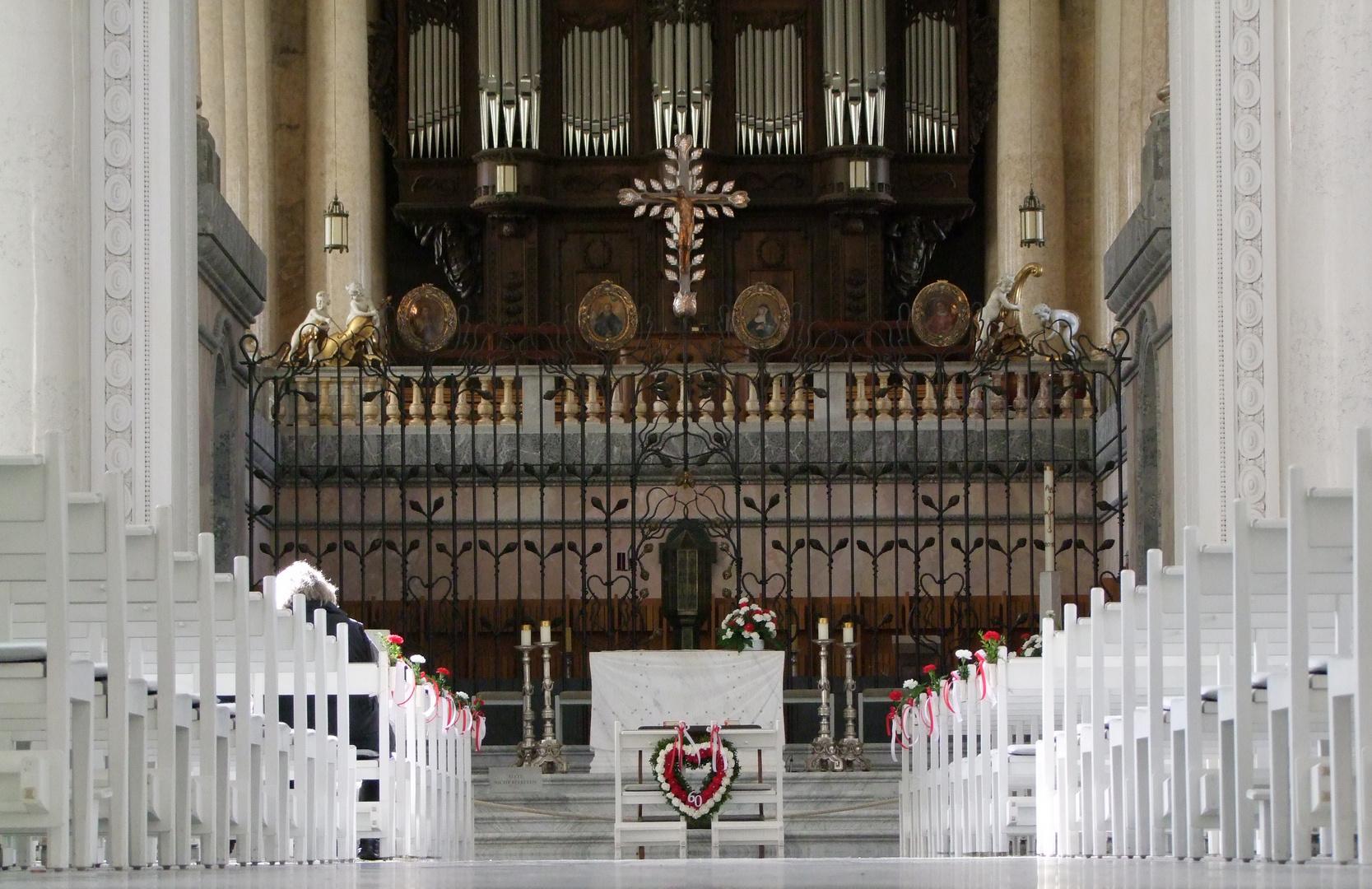 Kirchenschiff Dom St. Blasien