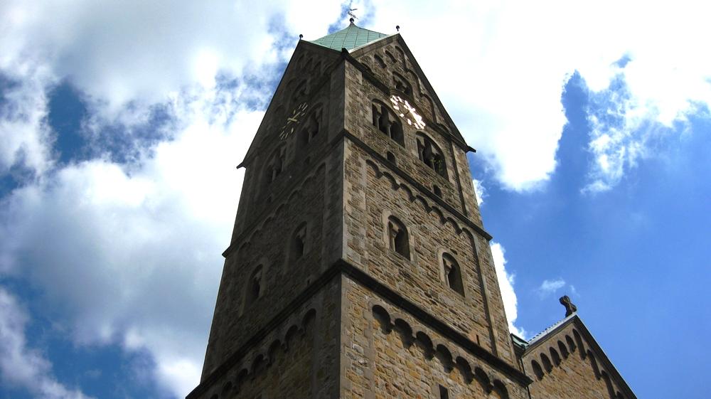 Kirchturm Burgaltendorfs