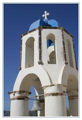 Kirchturm in Oia