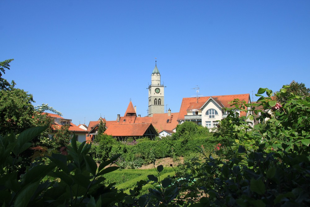 KIrchturm Überlingen am Bodensee