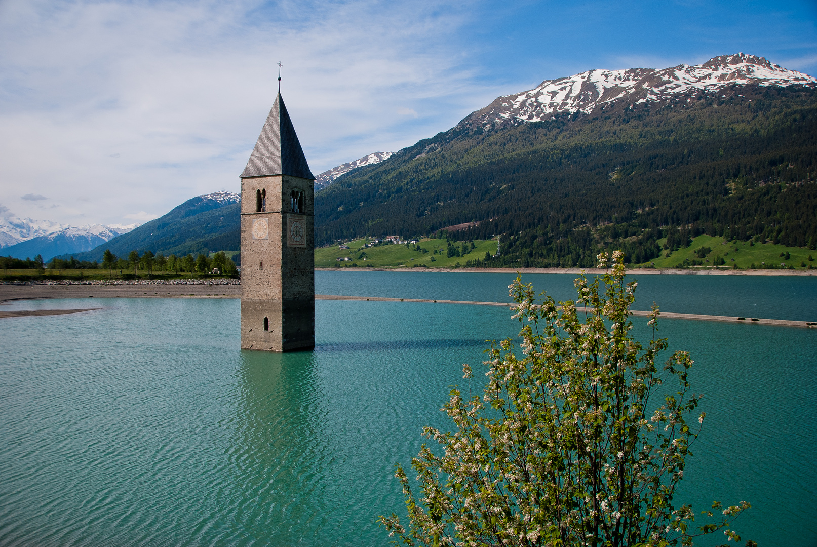 Kirchturm von Alt-Graun