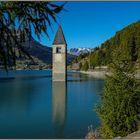 Kirchturm von Alt-Graun ...