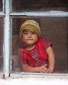 kirgiesisches Mädchen
