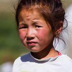 Kirgisisches Mädchen...
