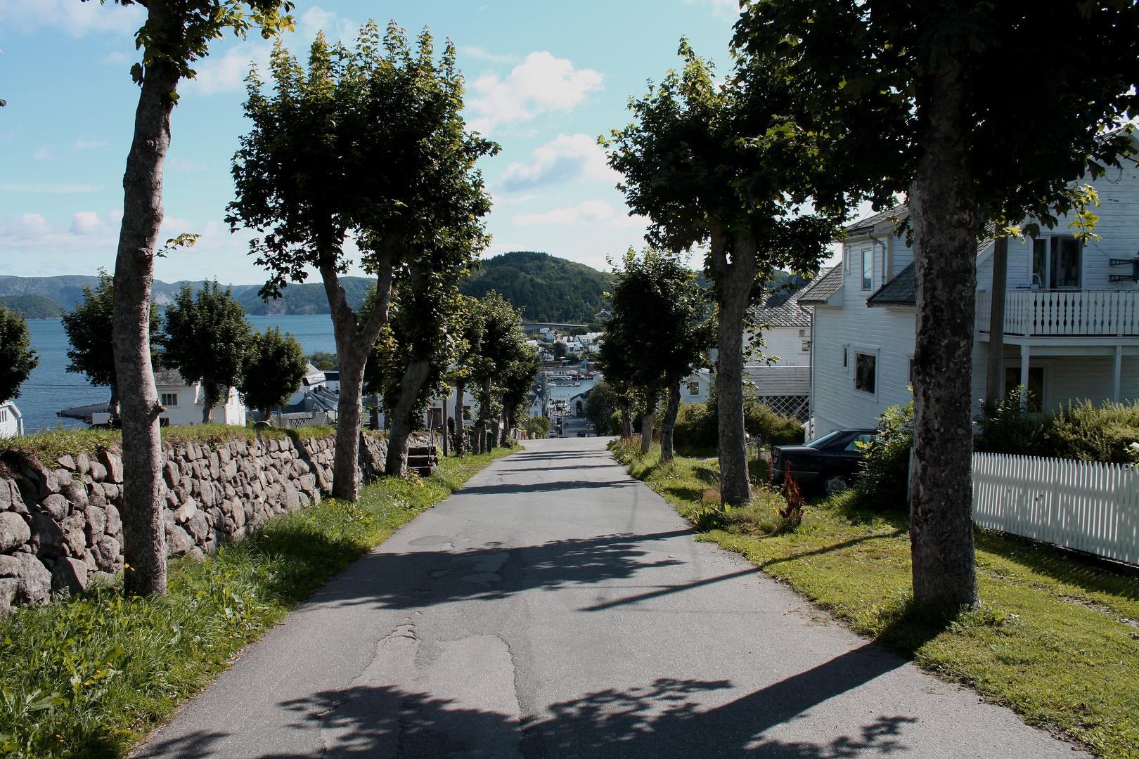 Kirkegaten, Farsund; Norwegen